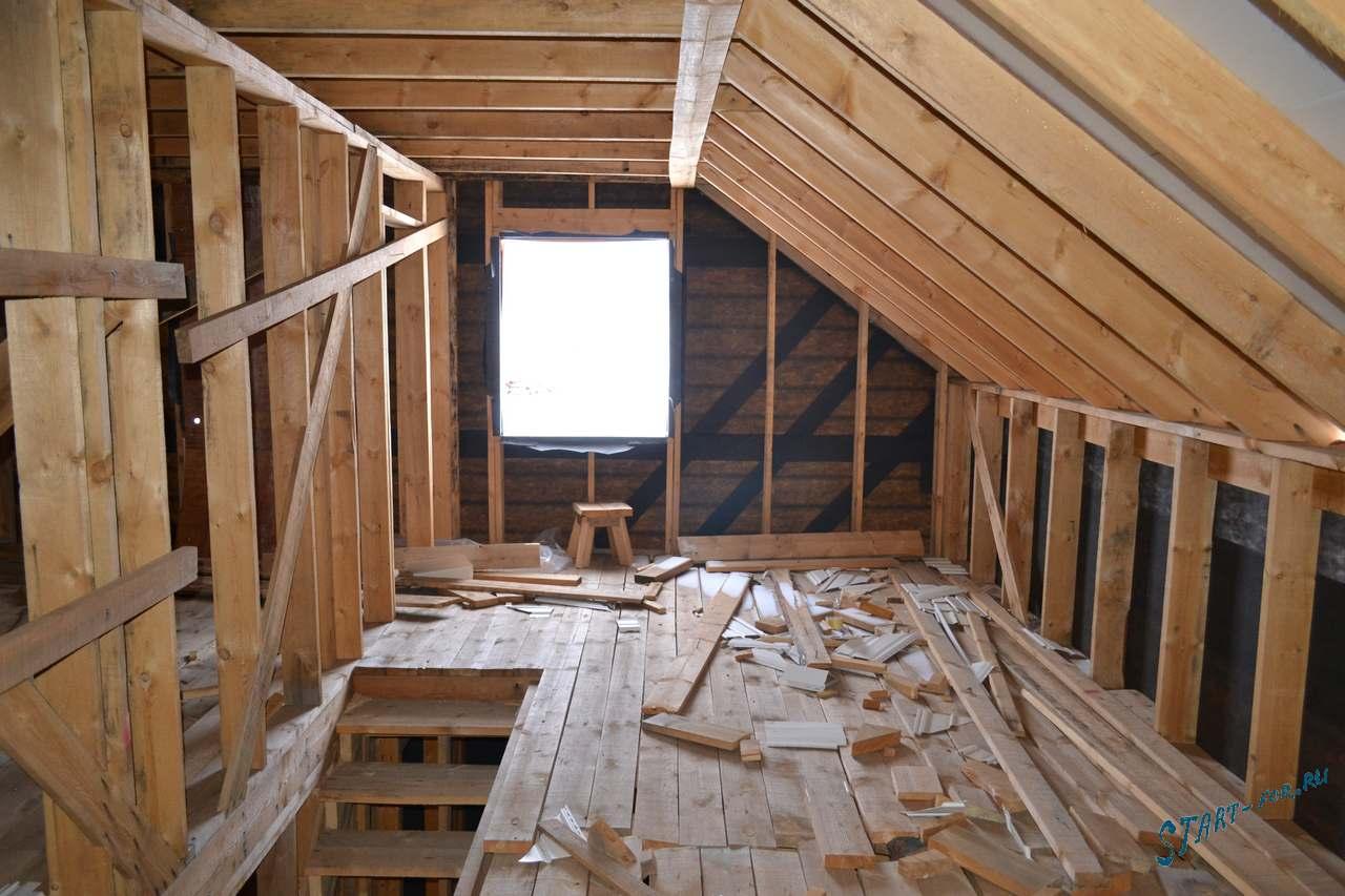 Двускатная мансардная крыша своими руками фото 630