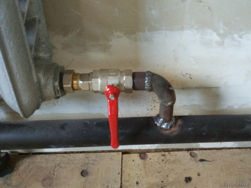 Тупиковая схема отопления частного дома