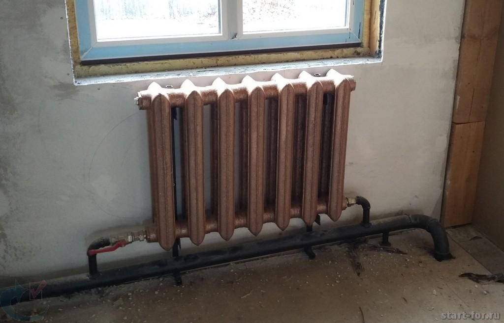 радиатор труба отопления